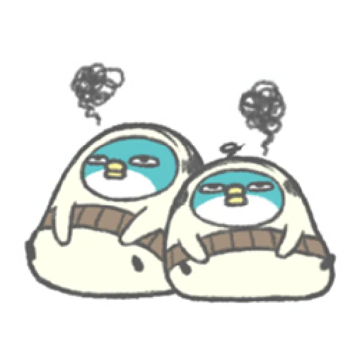 PP mini 小小企鵝 -小老頭 (2) - Sticker 6