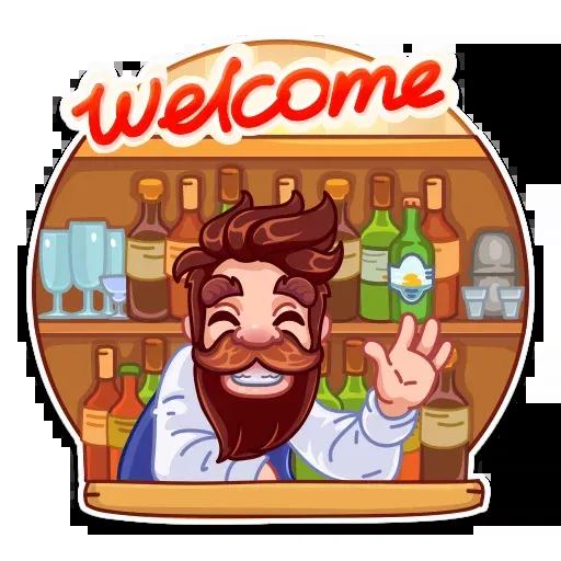 Beerman - Sticker 7