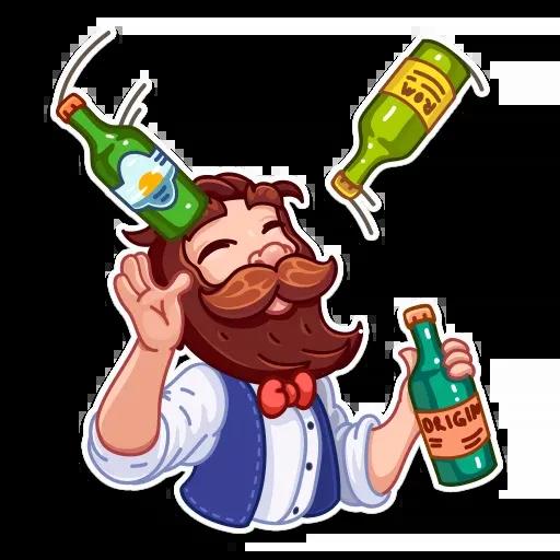 Beerman - Sticker 9