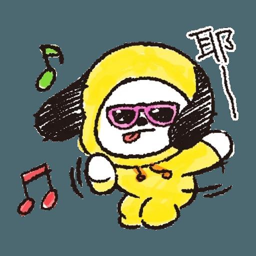 BT21(玩樂酷玩) - Sticker 3
