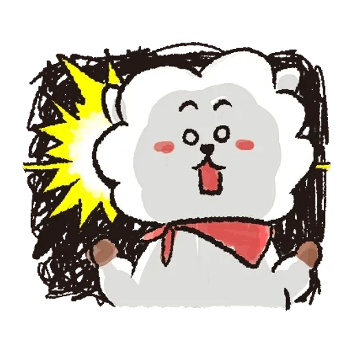 BT21(玩樂酷玩) - Sticker 23