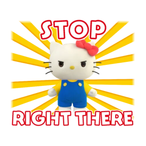 Hello Kitty - Sticker 26