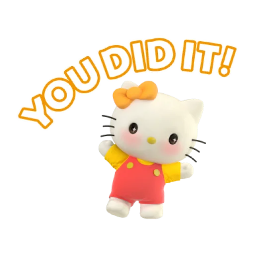 Hello Kitty - Sticker 13