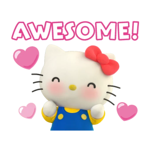 Hello Kitty - Sticker 9