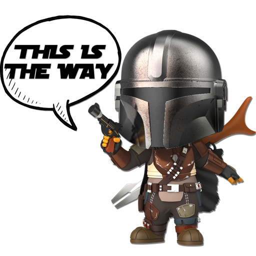 Star Wars & Mandalorian - Sticker 8
