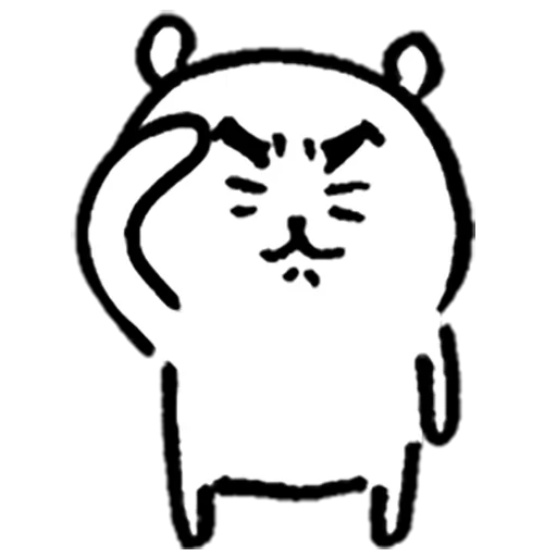 Mochi cat - Sticker 4