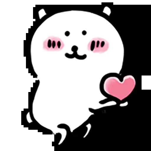 Mochi cat - Tray Sticker