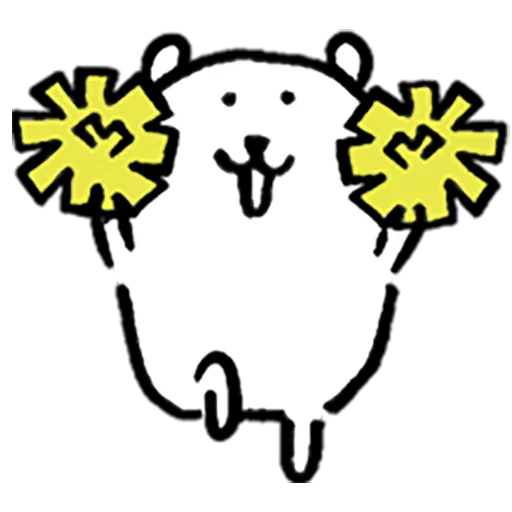 Mochi cat - Sticker 3