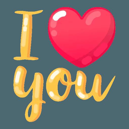 My Love - Sticker 26