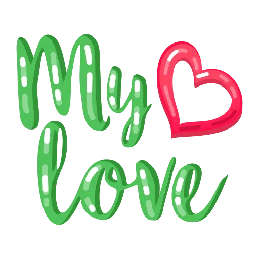 My Love - Sticker 28