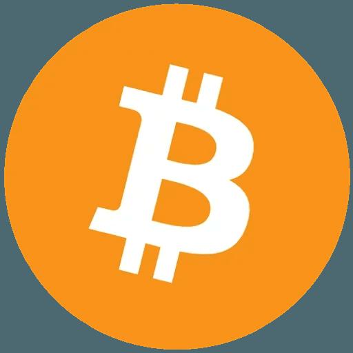 Bitcoin - Tray Sticker