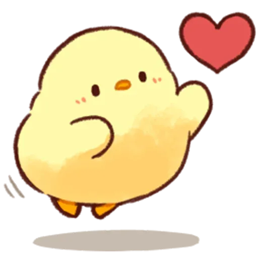 Soft and Cute Chick 2 - Sticker 29