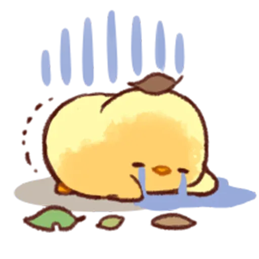 Soft and Cute Chick 2 - Sticker 22