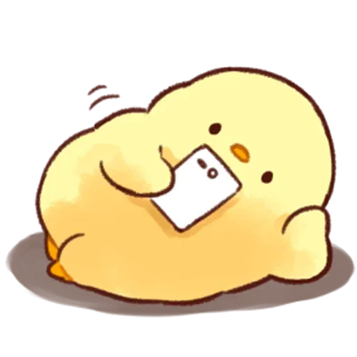 Soft and Cute Chick 2 - Sticker 24