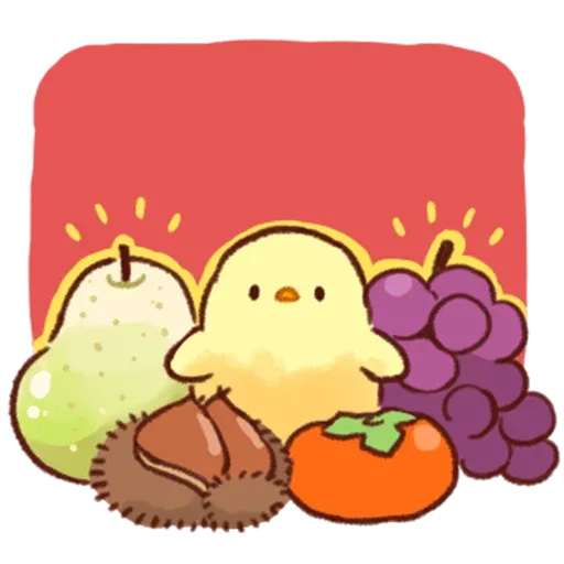 Soft and Cute Chick 2 - Sticker 13