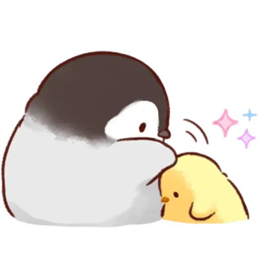 Soft and Cute Chick 2 - Sticker 14