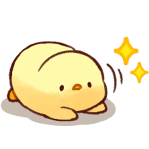 Soft and Cute Chick 2 - Sticker 17