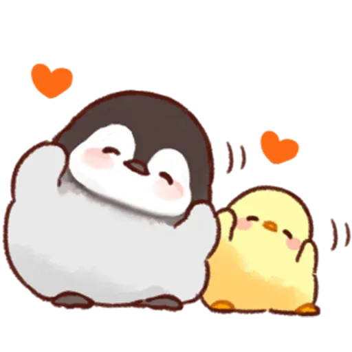 Soft and Cute Chick 2 - Sticker 15