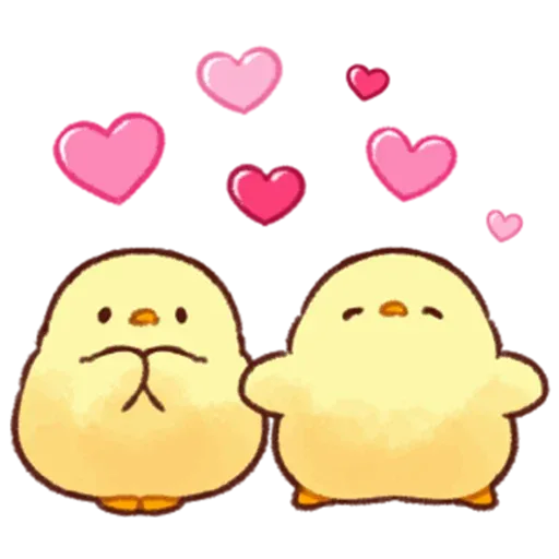 Soft and Cute Chick 2 - Sticker 1