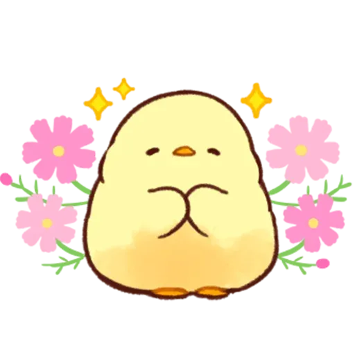 Soft and Cute Chick 2 - Sticker 16