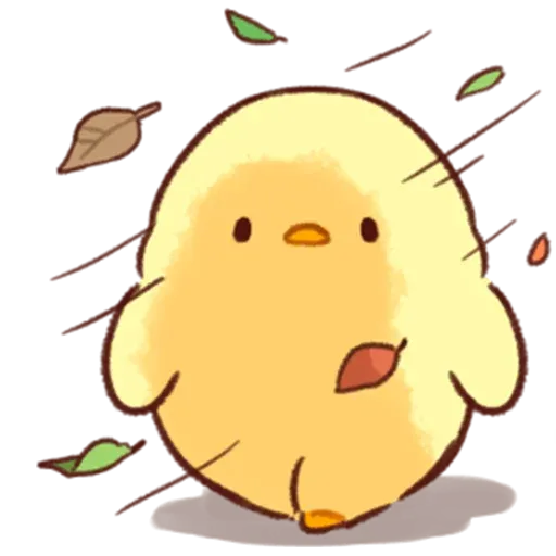Soft and Cute Chick 2 - Sticker 21
