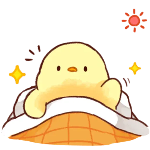Soft and Cute Chick 2 - Sticker 19