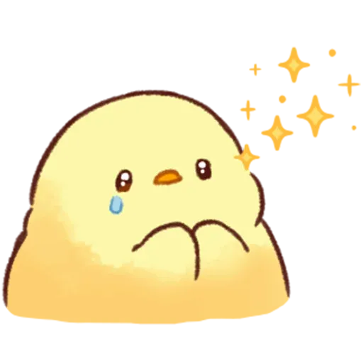 Soft and Cute Chick 2 - Sticker 3