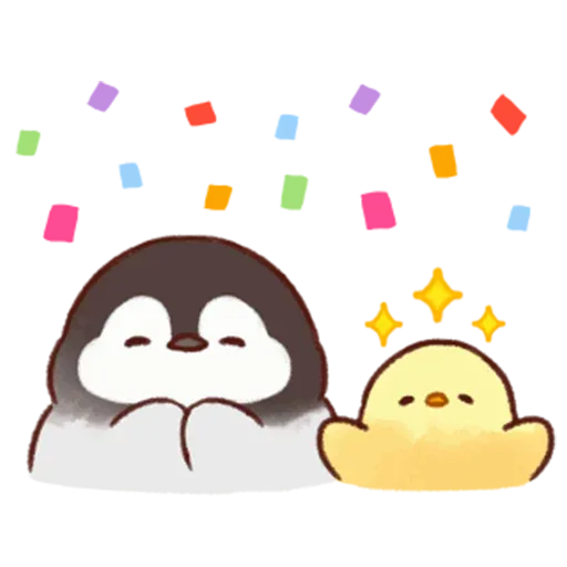Soft and Cute Chick 2 - Sticker 7