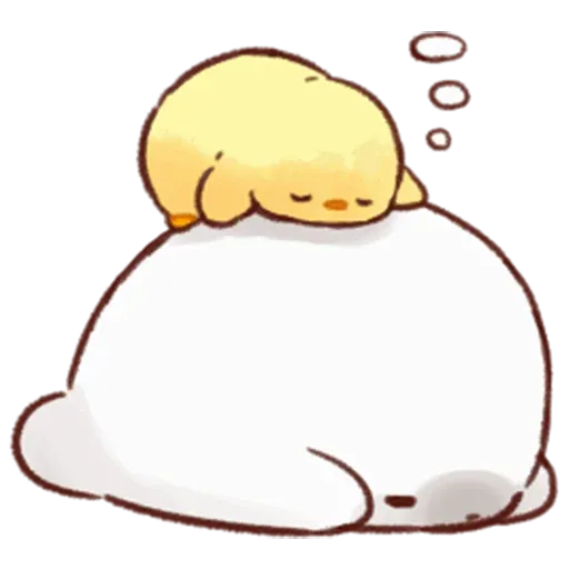 Soft and Cute Chick 2 - Sticker 4