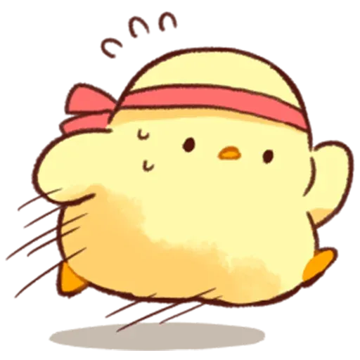 Soft and Cute Chick 2 - Sticker 27