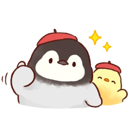 Soft and Cute Chick 2 - Sticker 12