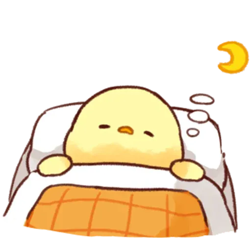 Soft and Cute Chick 2 - Sticker 20