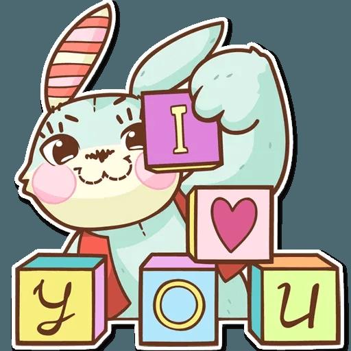 Bunny - Sticker 6