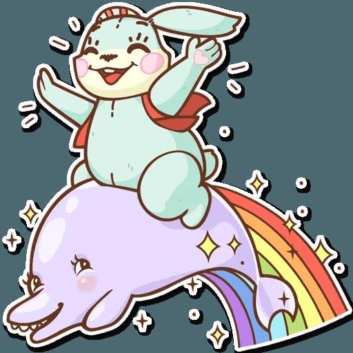Bunny - Sticker 30