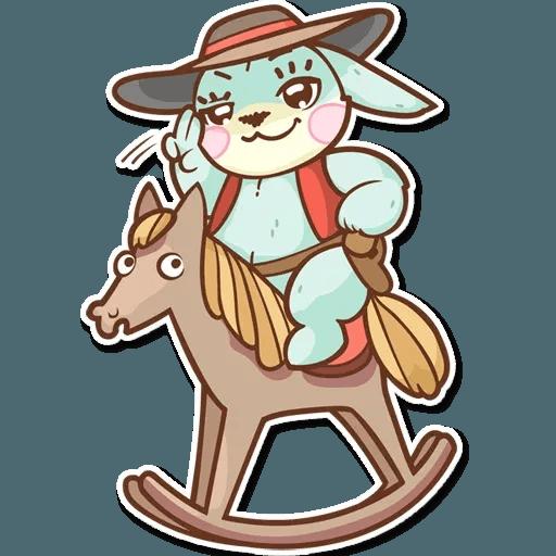 Bunny - Sticker 19