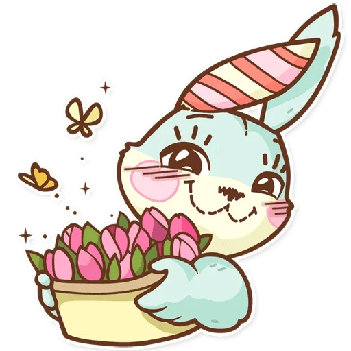 Bunny - Sticker 7