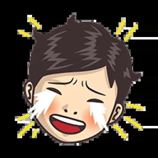 小學課本表情貼1 - Sticker 14