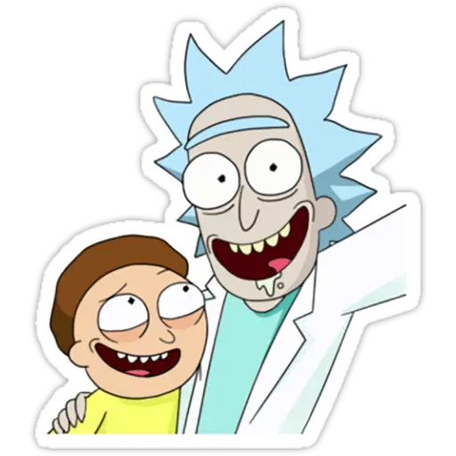 Rick & Morty III - Sticker 28