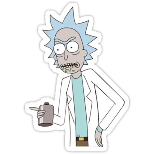 Rick & Morty III - Sticker 16