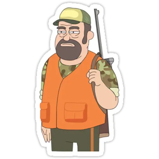 Rick & Morty III - Sticker 1