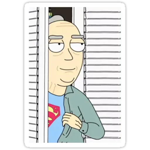 Rick & Morty III - Sticker 12