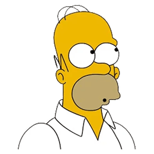 Homer Simpson - Sticker 7