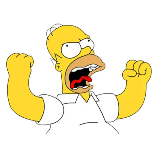 Homer Simpson - Sticker 18
