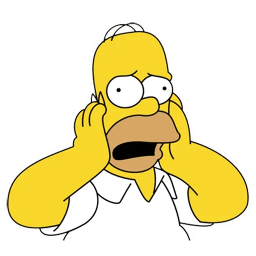Homer Simpson - Sticker 5