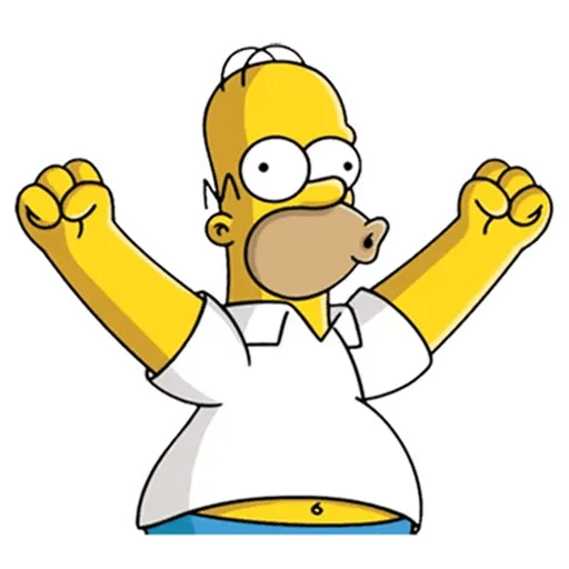 Homer Simpson - Sticker 3