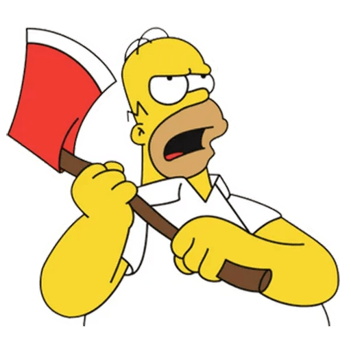 Homer Simpson - Sticker 17
