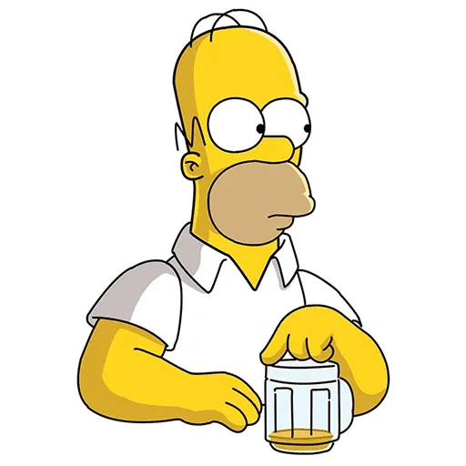 Homer Simpson - Sticker 8