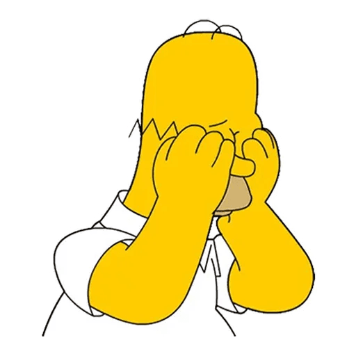 Homer Simpson - Sticker 6