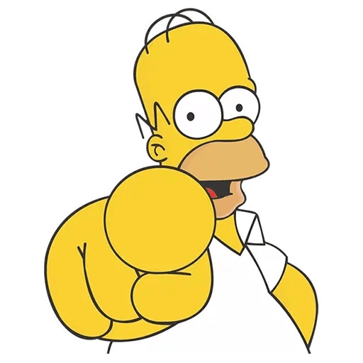 Homer Simpson - Sticker 4