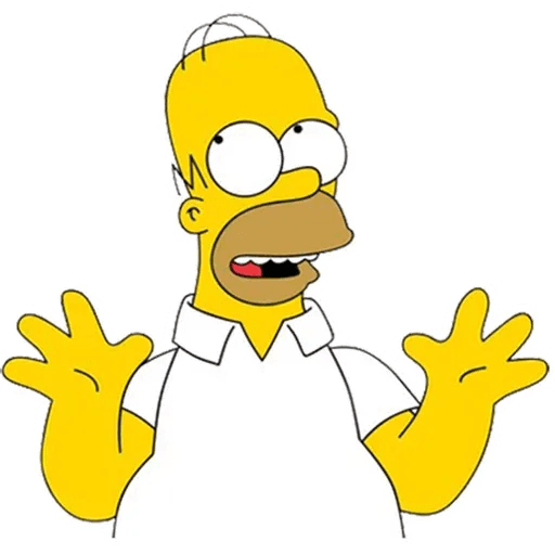 Homer Simpson - Sticker 9